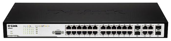 Коммутатор D-link DES-3200-28 DES-3200-28/C1A