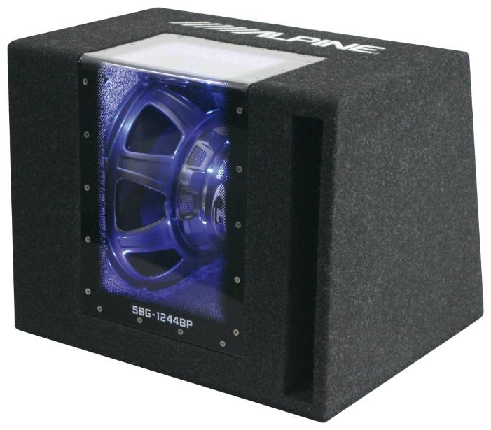 Alpine SBG-1244BP - Сабвуфер; 28 - 200 Гц; полос 1; 250 Вт (номинальная), 800 Вт (максимальная); 30 см (12 дюйм.); НЧ-динамиков 1;