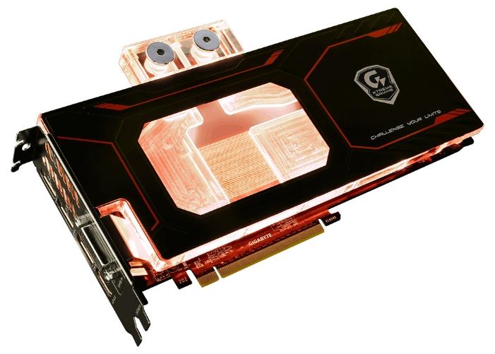 Видеокарта Gigabyte GeForce GTX 1080 1784Mhz PCI-E 3.0 8192Mb 10400Mhz 256 bit DVI 3xHDMI HDCP Xtreme Gaming WATERFORCE WB GV-N1080XTREME