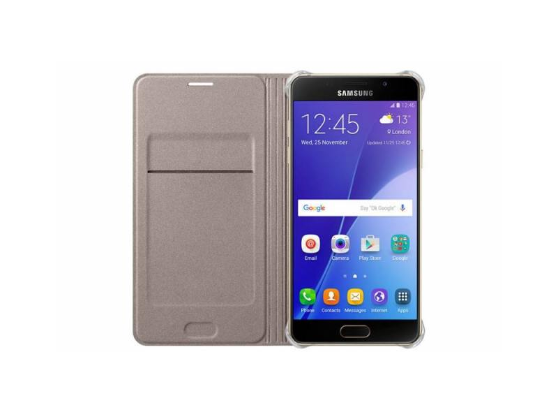Чехол Samsung для Samsung Galaxy A5 (2016) Flip Wallet, golden