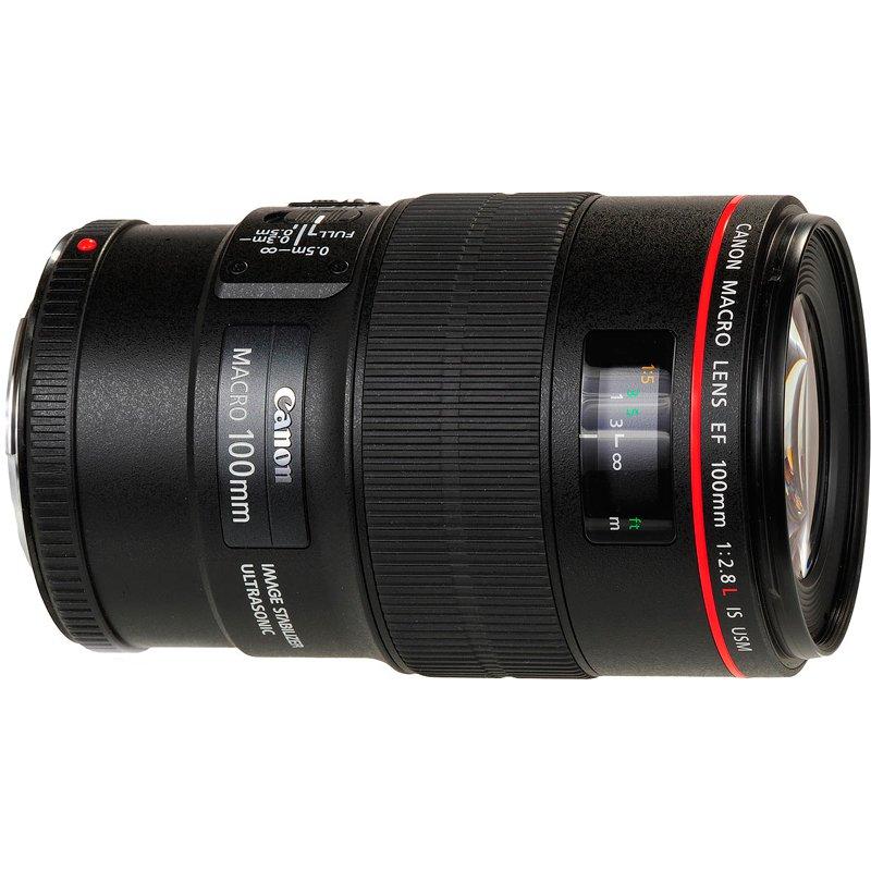 Фотообъектив Canon EF 100mm f/2.8L Macro IS USM 3554B005