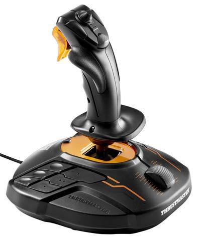 Джойстик ThrustMaster T.16000M FCS, черно-оранжевый 2960773