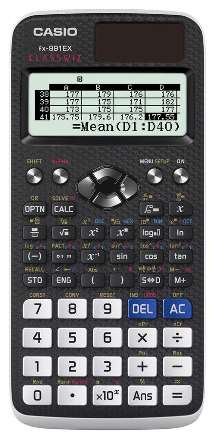 ����������� Casio Classwiz FX-991EX 10+2-��������� ���� FX-991EX-S-EH-V