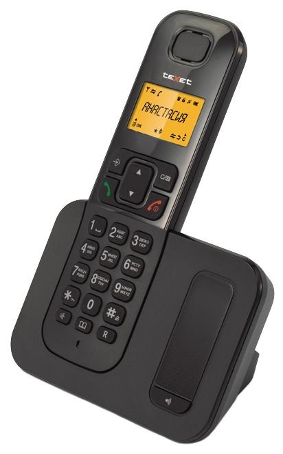 Радиотелефон DECT TeXet TX-D6605A Black