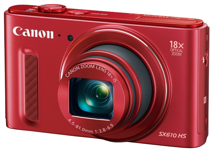 ����������� Canon PowerShot SX610HS Red 0113C002