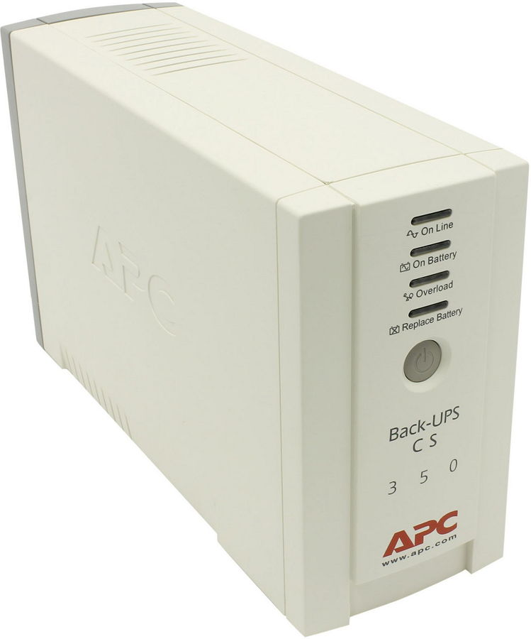 ИБП APC by Schneider Electric Back-UPS CS 350 USB/Serial, BK350EI