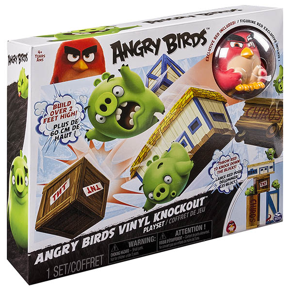 Angry Birds взрывная птичка