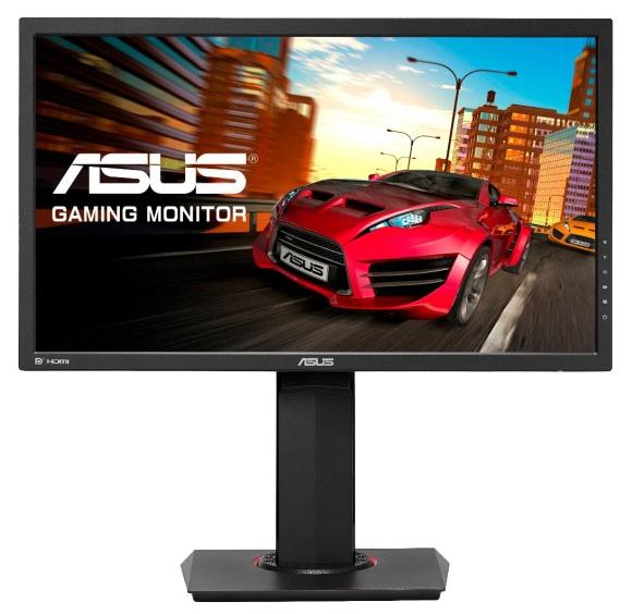 "Asus MG24UQ black - (23.6"", WLED, 3840x2160 (16:9), 300 кд/м2, 100000000:1, 4 мс, 16.7 млн. цветов, стереоколонки (2x2 Вт), HDMI 2.0 x2, DisplayPort)"