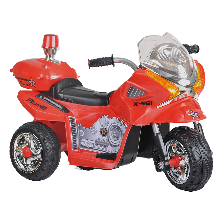 JIAJIA Электромотоцикл JT 368 Красный УТ000028228