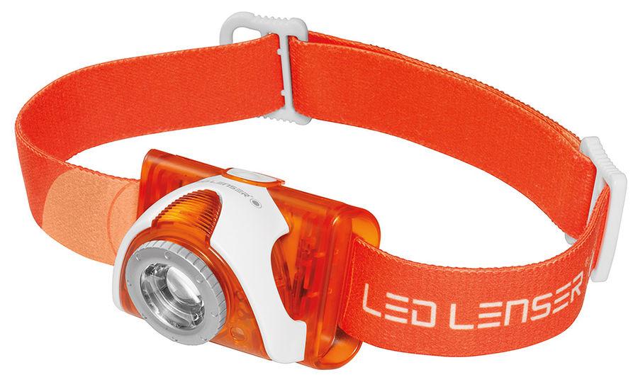 ������ LED LENSER SEO3,orange 6104