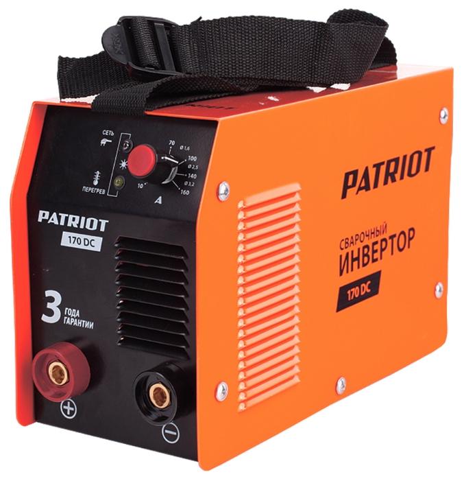Сварочный аппарат Patriot 170 DC 605302516