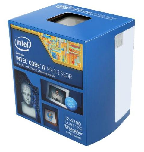 Процессор Intel Core i7-4790 Haswell (3600MHz, LGA1150, L3 8192Kb), BOX