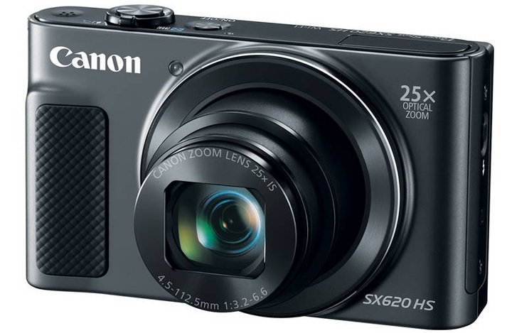 Canon PowerShot SX620 HS black - (21.1 млн, оптический zoom: 25x, 1920x1080, 2.5 кадр./сек, 922000 точек, 3 дюйма)