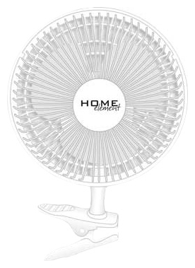 ���������� Home Element HE-FN1200, white