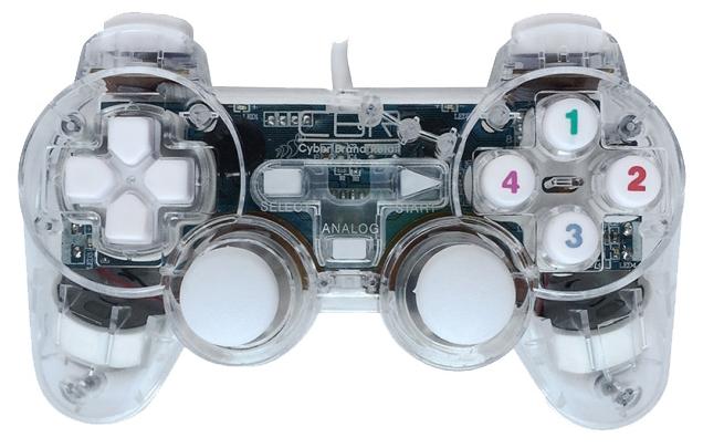 CBR CBG 915 для PC - проводной геймпад для ПК; USB; кнопок 12; джойстиков 2; крестовина (D-pad) есть; виброотдача есть