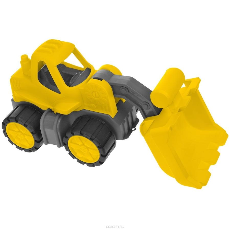 Машинка Big Экскаватор Power Worker Radlader yellow