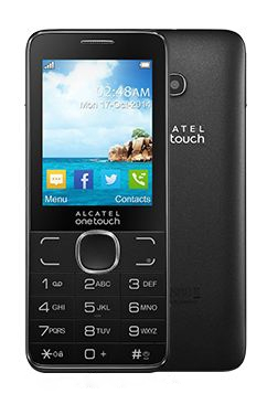 Alcatel One Touch 2007D, Dark Grey - (2.4 дюйм., 320x240, 16 Мб, microSD (TransFlash), объемом до 8 Гб, кол-во SIM-карт: 2, фотокамера: 3 млн пикс.)