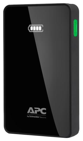 �������������� ������� APC Mobile Power Pack, 5000mAh Li-polymer, Black M5BK-EC