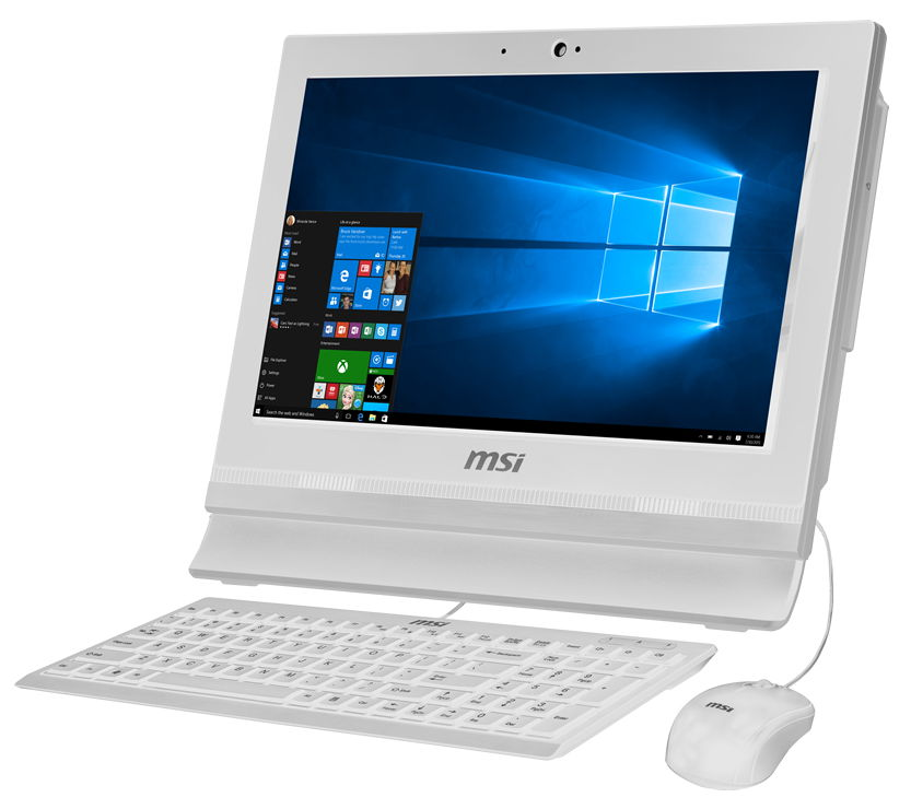 "MSI AP1622ET-036RU, White - (Intel Celeron 1037U / 1.80 GHz; 4 Гб; 500 Гб; ODD - ODD нет • Экран 15.6"" 1366x768; Intel HD Graphics (интегрированная) • LAN 10-1000 Мбит/с; Wi-Fi 802.11 b/g/n • MS Windows 10 Home (64-bit), версия для одного языка)"