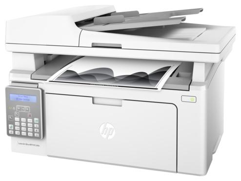 HP LaserJet Ultra M134fn RU (G3Q67A), white - ((принтер/сканер/копир/факс); A4; черно-белая; печать 22 стр/мин (ч/б А4) • Печать на: карточках, пленках, этикетках, фотобумаге, глянцевой бумаге, конвертах, матовой бумаге)
