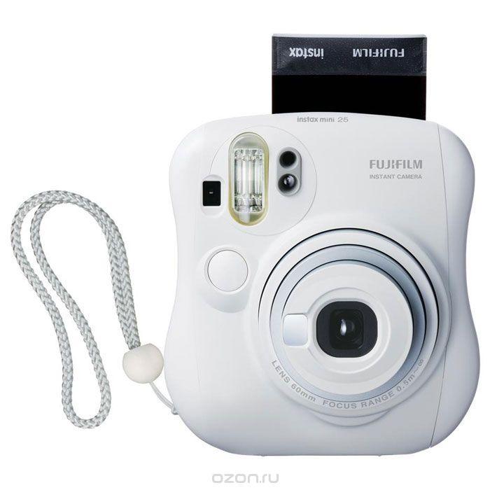 ����������� ������������ ������ Fujifilm Instax Mini 25, White Instax Mini 25 White