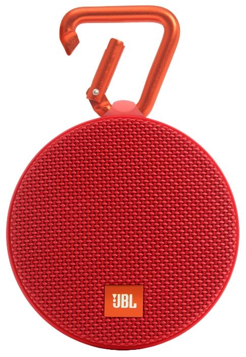 Портативная АС JBL Clip 2 red JBLCLIP2RED