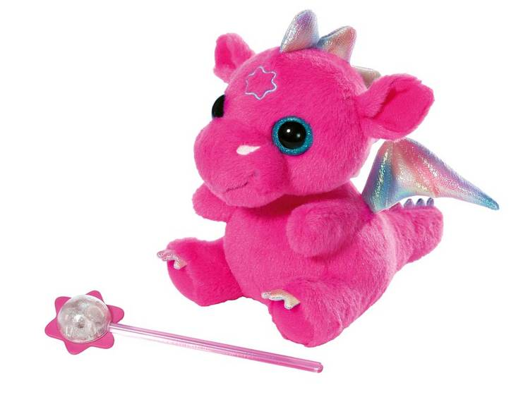 Мягкая игрушка Zapf Baby born, Дракон из Страны чудес, pink