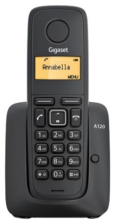 Радиотелефон Siemens Gigaset A120 Black S30852-H2401-S301