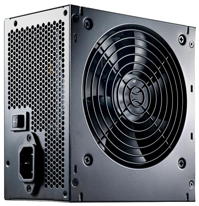 Cooler Master B500 ver.2 500W - 500 Вт, ATX12V 2.31, 1 вентилятор (120 мм), PFC активный, линия +12В(1) - 38 A • Molex: 3 / SATA: 6