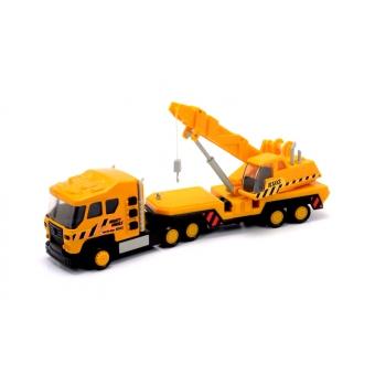 Машинка Soma Автокран Спецтехника Yellow 71550