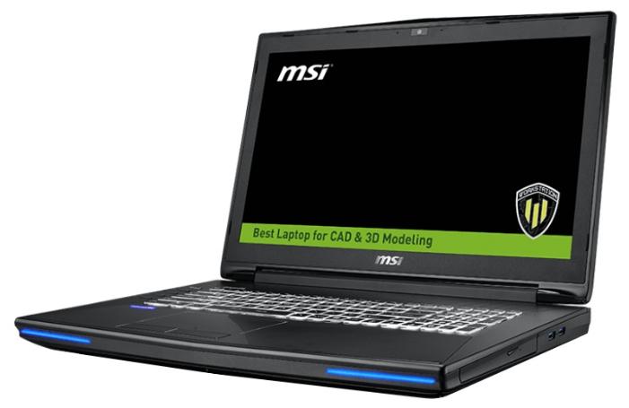 MSI WT72 6QI (9S7-178212-413) - (Intel Core i7 6700HQ 2600 МГц. Экран 17.3 дюймов, 1920x1080, широкоформатный. ОЗУ 16 Гб DDR4 2133 МГц. Накопители HDD+SSD 1128 Гб; DVD нет. GPU NVIDIA Quadro M1000M. ОС Win 10 Pro)