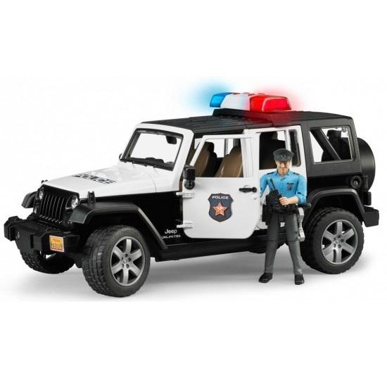 Машинка Bruder Внедорожник Jeep Wrangler Unlimited Rubicon Полиция