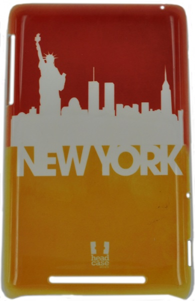 "E-cell NEW YORK SILHOUETTE SKYLINE DESIGN для ASUS Nexus 7 - (для LG K430ds/K410 K10 LTE/K10; 7""; пластик, резинка)"