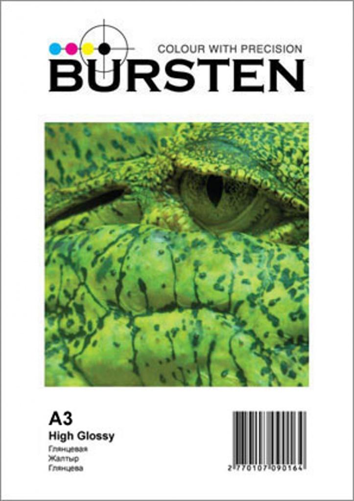 Бумага BURSTEN A3 Глянцевая 180 (50 листов), 180 г/м2, 420x297 (A3)