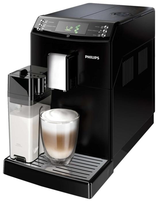 Philips Series 3100 HD8828/09 - эспрессо, автоматическое приготовление; кофе - молотый / зерновой; групп 1 • 15 бар; бойлер; 1850 Вт