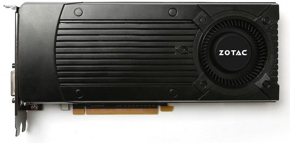 Zotac GTX1060 6144Mb, оем - NVIDIA GeForce GTX 1060, 16 нм, 1506 МГц, boost 1708 МГц, 6144 Мб GDDR5@8008 МГц 192 бит, TDP 120 Вт •