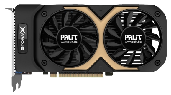 Palit GeForce GTX 750 Ti 1202Mhz PCI-E 3.0 2048Mb - (NVIDIA GeForce GTX 750 Ti, 28 нм, 1202 МГц, 2048 Мб GDDR5@6008 МГц 128 бит, TDP 60 Вт • Разъёмы: DVI, поддержка HDCP, Mini HDMI, VGA.)