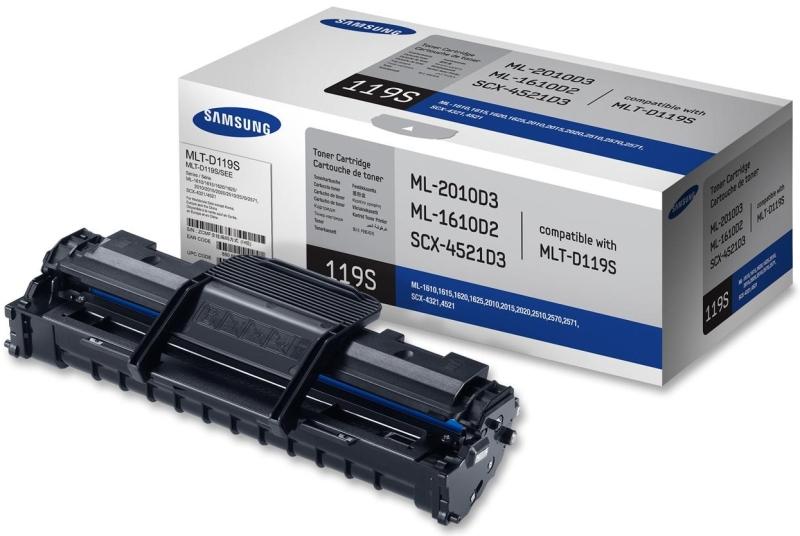Картридж лазерный Samsung MLT-D119S, black MLT-D119S/SEE