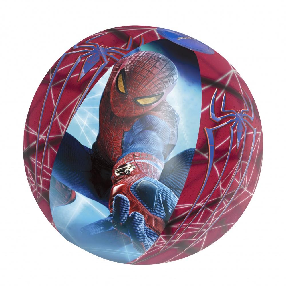Мяч надувной Bestway (2+) 98002 Spider-Man р51см
