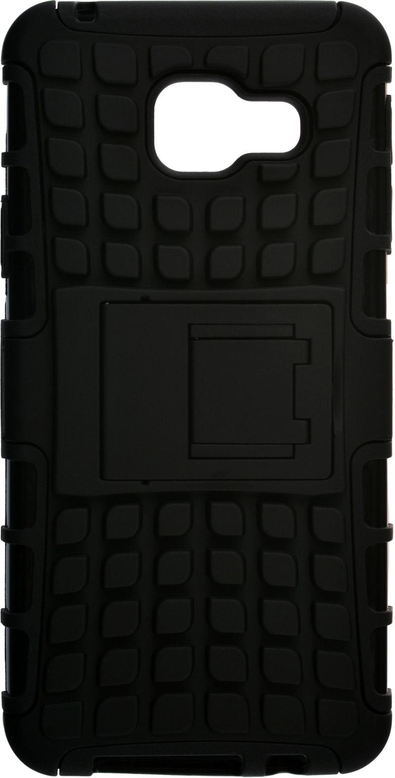 �������� SkinBox Defender case ��� Samsung Galaxy A3 (2016) Black