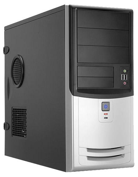 Корпус для компьютера IN WIN EAR018 450W Black/silver EAR018BS