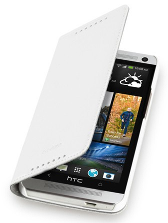 Чехол-книжка GGMM для HTC One Kiss-H1 White