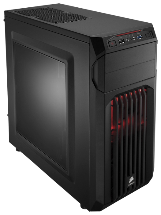 Корпус для компьютера Corsair Carbide Series SPEC-01 Black CC-9011050-WW