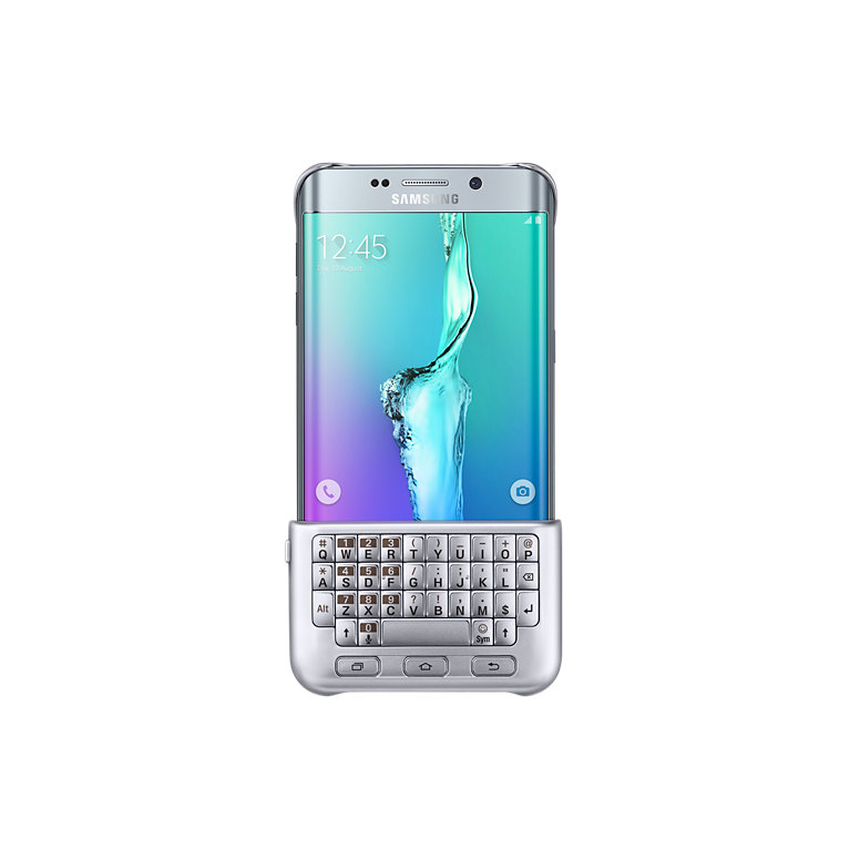 �����-���������� Samsung ��� Samsung Galaxy S6 Edge Plus Keyboard Cover Silver