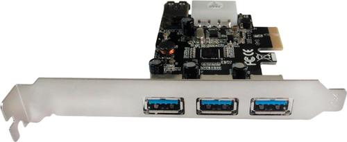 ���������� Speed Dragon (EU306A-3-BU01), 3 ext (USB3.0) + 1 int (USB3.0), PCI-Ex1