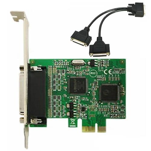 Speed Dragon PCI-E EMIO-V4T-0002P - LPT-контроллер; PCI-E; снаружи 2х LPT(IEEE1284)
