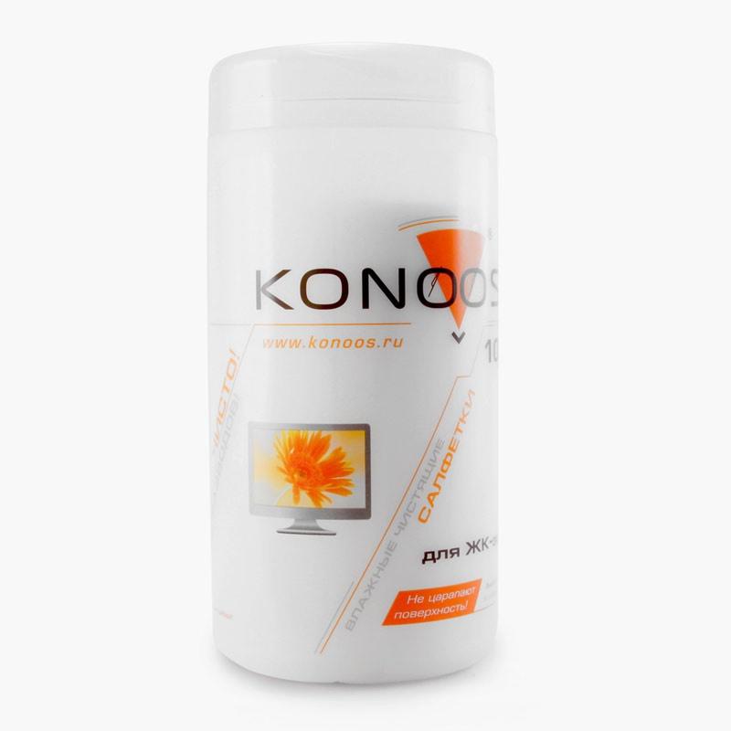 Konoos KBF-100 - для очистки ЖК-экранов (Термобонд, пропитывающий раствор); 100 штук