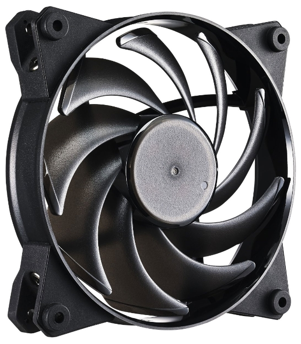 Cooler Master MasterFan Pro 120 Air Balance - 120x120x25 мм; вентиляторов 1; 650 - 2500 об/мин; 4-pin PWM; подсветка отсутствует; 42