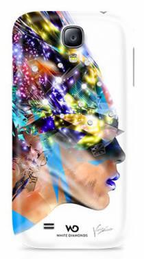 "White Diamonds для Samsung Galaxy S4 Nafrotiti White - (Samsung Galaxy S4; 4.3""; пластик, резинка)"