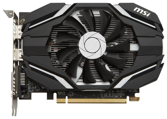 Видеокарта MSI Radeon RX 460 2048Mb RX 460 2G OC
